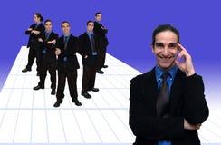 1 επιχειρησιακή ομάδα στοκ εικόνα