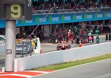 1 εργασία Grand Prix τύπου εγκιβω&t Στοκ Εικόνες
