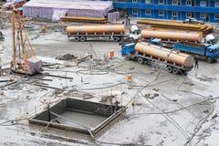 1 εργοτάξιο οικοδομής Στοκ εικόνα με δικαίωμα ελεύθερης χρήσης