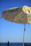 1 ζωηρόχρωμο parasol Στοκ Φωτογραφία