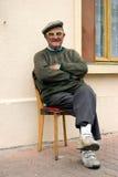 1 ηλικιωμένο άτομο Στοκ εικόνα με δικαίωμα ελεύθερης χρήσης