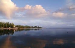 1 ηλιοβασίλεμα θάλασσα&sigma Στοκ Εικόνες