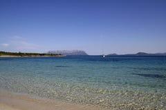 1 θάλασσα της Σαρδηνίας Στοκ εικόνες με δικαίωμα ελεύθερης χρήσης