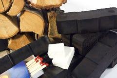 1 θέρμανση άνθρακα Στοκ φωτογραφία με δικαίωμα ελεύθερης χρήσης