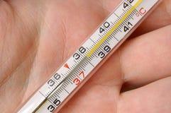 1 θερμόμετρο Στοκ Εικόνες