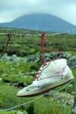 1 Ιρλανδός κανένα παπούτσι Στοκ φωτογραφία με δικαίωμα ελεύθερης χρήσης