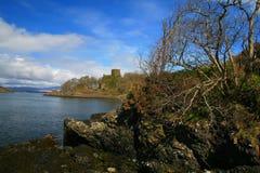 1 κάστρο dunollie Στοκ Εικόνες
