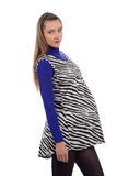 1 καλή έγκυος γυναίκα Στοκ φωτογραφία με δικαίωμα ελεύθερης χρήσης