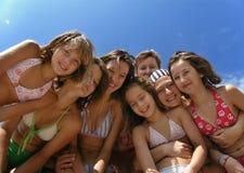 1 καλοκαίρι οικογενει&alp στοκ φωτογραφία με δικαίωμα ελεύθερης χρήσης