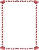 1 καρδιά συνόρων Στοκ φωτογραφία με δικαίωμα ελεύθερης χρήσης