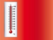 1 καυτός θερμός Στοκ Εικόνα