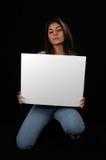 1 κενό χαρτόνι στοκ εικόνες με δικαίωμα ελεύθερης χρήσης
