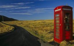 1 κιβώτιο κανένα telefon Στοκ Φωτογραφία