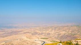 1 κοιλάδα της Ιορδανίας Στοκ φωτογραφία με δικαίωμα ελεύθερης χρήσης