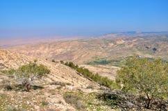 1 κοιλάδα της Ιορδανίας Στοκ Φωτογραφίες