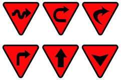 1 κυκλοφορία σημαδιών Στοκ φωτογραφία με δικαίωμα ελεύθερης χρήσης