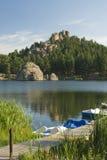 1 λίμνη δασική Στοκ Εικόνες