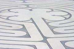 1 λαβύρινθος Στοκ φωτογραφίες με δικαίωμα ελεύθερης χρήσης