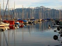 1 Λωζάνη ouchy Ελβετία Στοκ Εικόνες