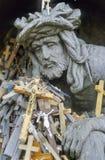 1 λόφος αριθ. σταυρών Στοκ Εικόνες