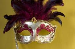 1 μάσκα Βενετός Στοκ εικόνα με δικαίωμα ελεύθερης χρήσης