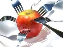 1 μήλο Στοκ εικόνες με δικαίωμα ελεύθερης χρήσης