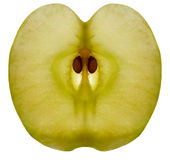 1 μήλο Στοκ Φωτογραφία