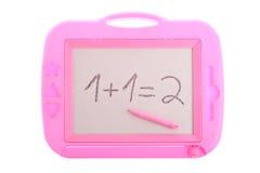 1 μαγνητικό ροζ εξίσωσης σ&chi Στοκ Εικόνες