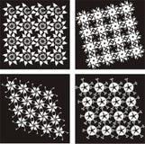 1 μαύρο διάνυσμα προτύπων Στοκ Φωτογραφίες