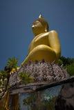 1 μεγάλος Βούδας κίτρινο&sig Στοκ φωτογραφία με δικαίωμα ελεύθερης χρήσης