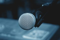 1 μικρόφωνο Στοκ Εικόνες