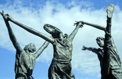 1 μνημείο αριθ. χορευτών Στοκ Εικόνες