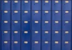 1 μπλε θέση box οφφηθε Στοκ εικόνες με δικαίωμα ελεύθερης χρήσης