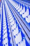 1 μπλε πάγκων Στοκ Εικόνες