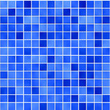 1 μπλε υαλώδες μωσαϊκό ελεύθερη απεικόνιση δικαιώματος