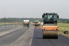 1 νέος δρόμος κατασκευής Στοκ Εικόνες
