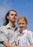 1 νεολαία γυναικών ανδρών Στοκ Εικόνα