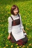1 νεολαία γυναικών ξέφωτων Στοκ φωτογραφίες με δικαίωμα ελεύθερης χρήσης