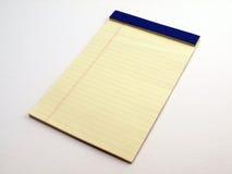 1 νομικό μαξιλάρι κίτρινο Στοκ Εικόνα