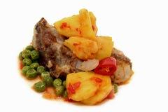 1 ξινό γλυκό χοιρινού κρέατ&omicron Στοκ Εικόνες