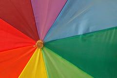 1 ομπρέλα ουράνιων τόξων χρωμ Στοκ φωτογραφία με δικαίωμα ελεύθερης χρήσης