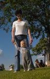 1$ος τα βήματά του Στοκ εικόνα με δικαίωμα ελεύθερης χρήσης