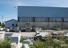 1 πέτρα πλακών εργοστασίων Στοκ Εικόνες