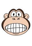 1 πίθηκος Στοκ Εικόνες