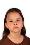 1 παιδί που βλάπτεται Στοκ εικόνα με δικαίωμα ελεύθερης χρήσης