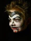 1 παιδί makeup Στοκ Εικόνες