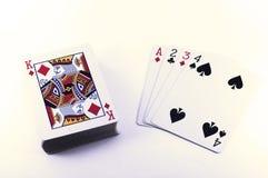 1 παιχνίδι καρτών Στοκ Εικόνα