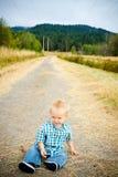 1 παλαιό έτος αγοριών Στοκ φωτογραφία με δικαίωμα ελεύθερης χρήσης