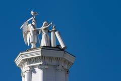 1 παράξενο άγαλμα Στοκ φωτογραφία με δικαίωμα ελεύθερης χρήσης