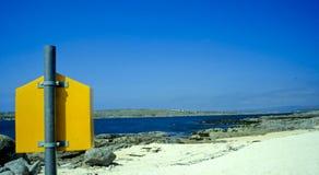 1 παραλία ιρλανδικό αριθ. Στοκ φωτογραφία με δικαίωμα ελεύθερης χρήσης